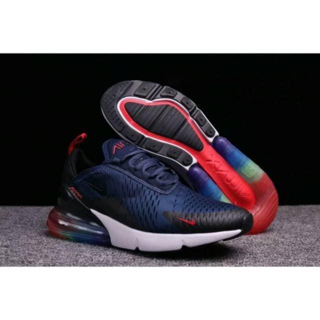promo code 9a8e3 827ca Jual Nike Air Max 270 Be True Navy Blue Rainbow High Premium Original - DKI  Jakarta - emalilia   Tokopedia
