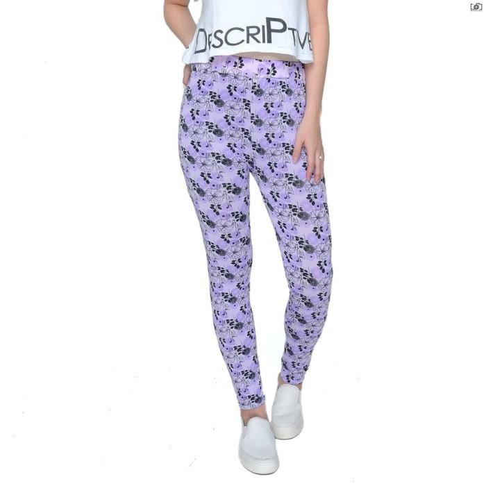 Jual Celana Legging Motif Bunga Fashion Wanita Termurah Fit To S M L Kota Tangerang Selatan Tanjung Serumpun 89 Tokopedia