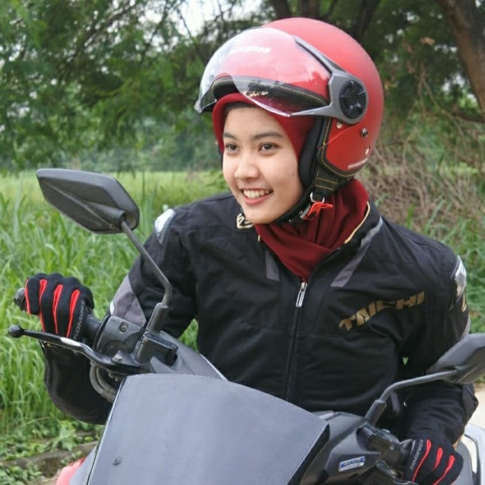 Foto Produk Cargloss YRM Micrometric Buckle, visor Hardcoat Halfface-Majestic Red - M dari Helm Cargloss