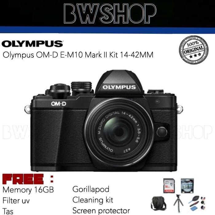 harga Olympus om-d e-m10 mark ii kit 14-42mm Tokopedia.com