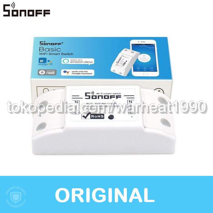 Jual SONOFF Basic WiFi Smart Switch / Saklar / Tasmota / BASICR2 - Jakarta  Barat - warheat1990 | Tokopedia