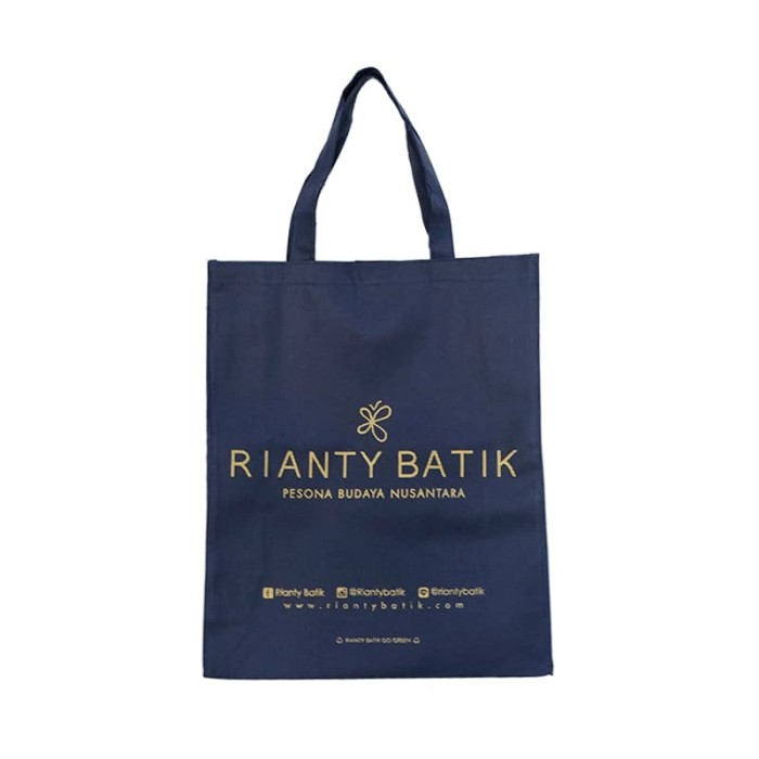 Foto Produk Rianty Batik Paper Bag | Tas Canvas Rianty Batik - Besar dari Rianty Batik