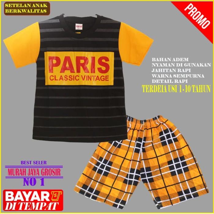Jual Pakaian Setelan anak laki laki Karakter PARIS Bahan ...