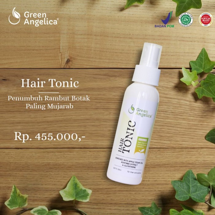 harga Hair growth tonic green angelica Tokopedia.com