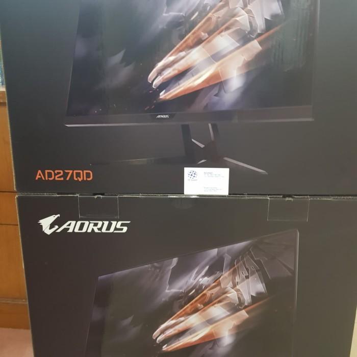 harga Gigabyte aorus ad27qd rgb gaming monitor - qhd 2k 144hz 1ms freesync Tokopedia.com