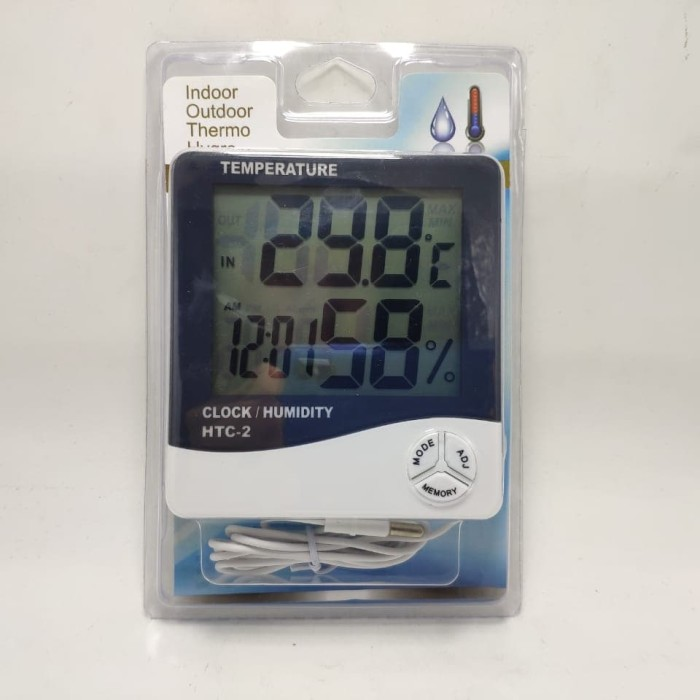 Foto Produk HTC-2 Thermo Hygrometer/Temperature Hygrometer HTC-2 Plus Kabel 1.5 m dari OptimusVinzPrime