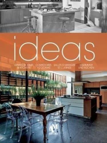 BEST SELLER BUKU TERBARU IDEAS: DINING ROOMS & KITCHENS FRESH PRODUCT
