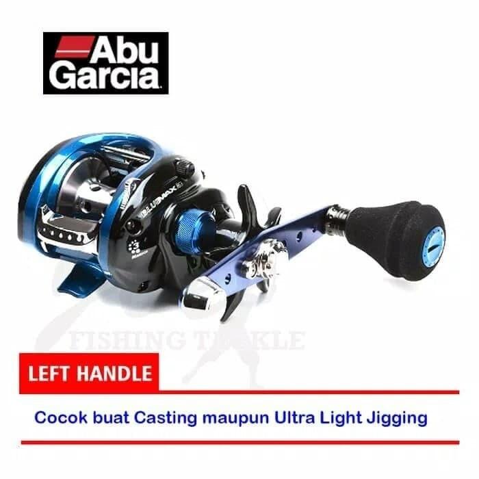 ABU BLUE MAX LEFT HAND WIND BAIT CASTING FISHING REEL