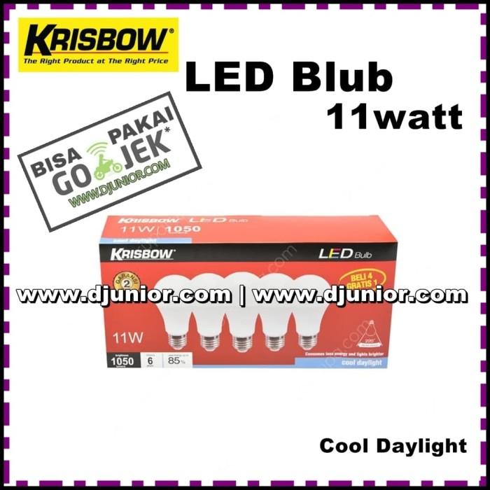 Jual Krisbow Lampu Bohlam Led 11w Led Bulb 11 W 11 Watt 11watt By Ace Kota Bekasi Djunior Com Tokopedia