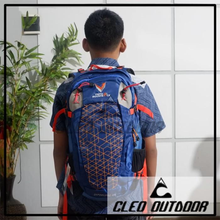 Foto Produk Tas Vertical Mountrack Diamon 35 Liter Daypack dari Cleo Outdoor Adventure