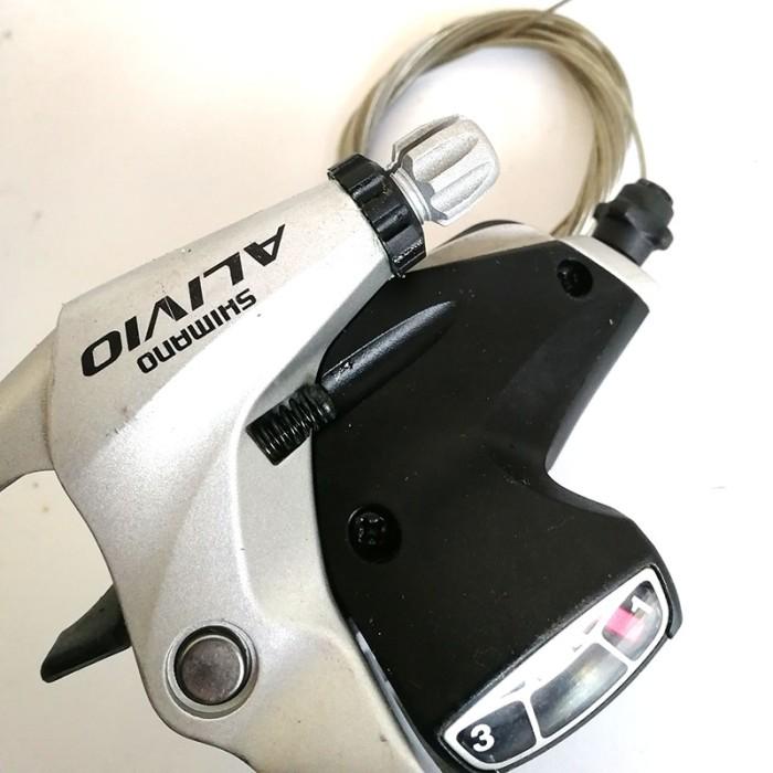 SHIMANO ALIVIO SL-M410 Shifters Trigger Set 3x8S w//Cable