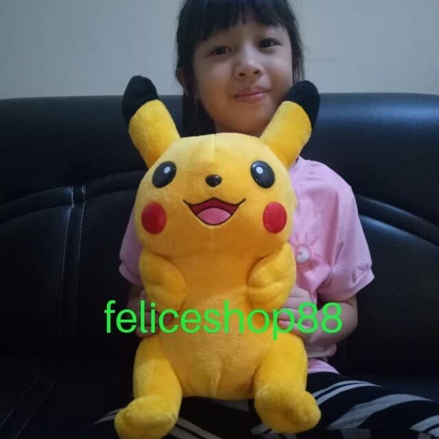 Foto Produk boneka pokemon pikachu m dari feliceshop88