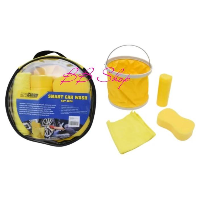Pro Clean Car Wash >> Jual Proclean Set Peralatan Cuci Mobil 4 Pcs Smart Car Wash Set Kuning Jakarta Utara Bestbrandshop Tokopedia