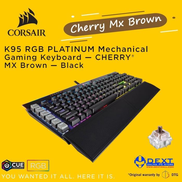 5793ef8a59e Corsair Gaming K95 Platinum RGB (Cherry MX Brown Switch RGB Backlight)