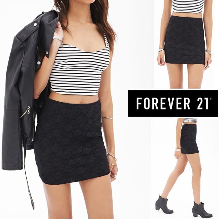 Foto Produk Branded lace mini skirt dari toko super murah