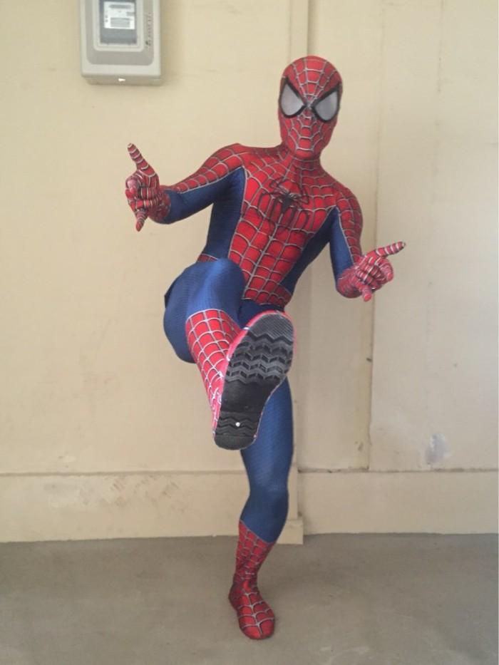 Jual Raimi Spiderman Costume 3d Print Fullbody Halloween Cosplay Suit Kota Surabaya Flash Mart Tokopedia