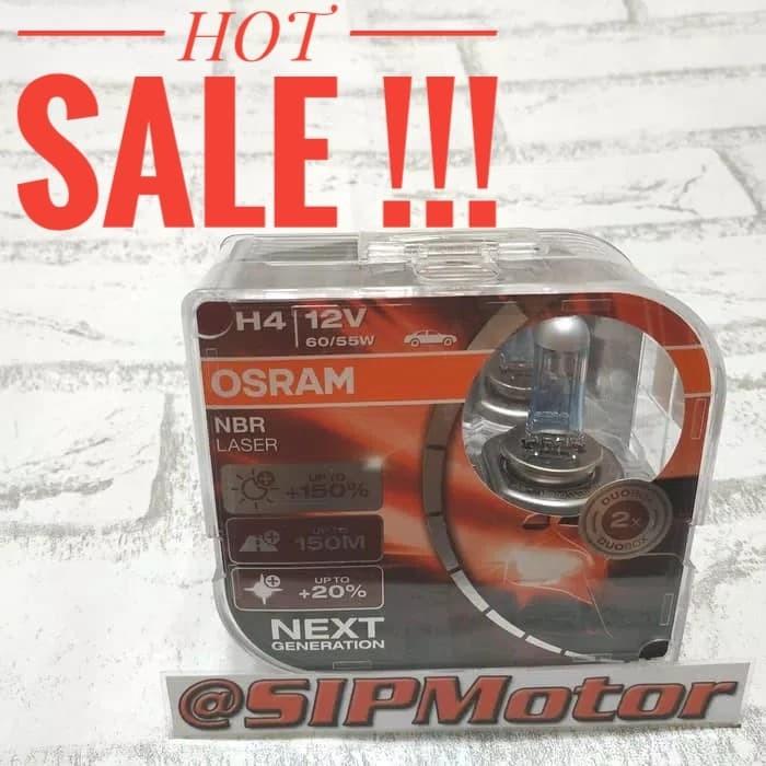 Foto Produk Osram NBR Laser H4 Next Generation Night Breaker dari SIPMotor