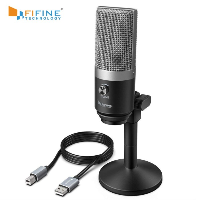 Jual Fifine Usb Microphone For Mac Laptop And Computers For