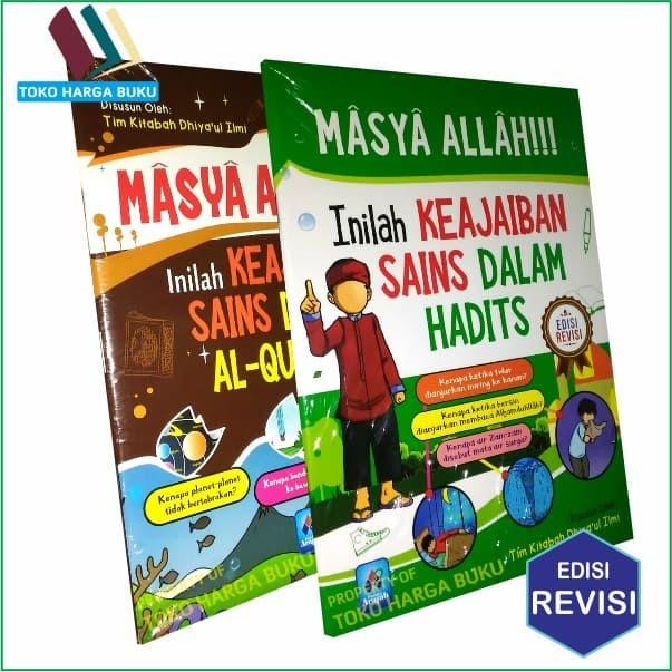 Jual Bazzar Buku Masya Allah Inilah Keajaiban Sains Dalam Al Quran Dan Jakarta Timur Bazzarbuku Tokopedia