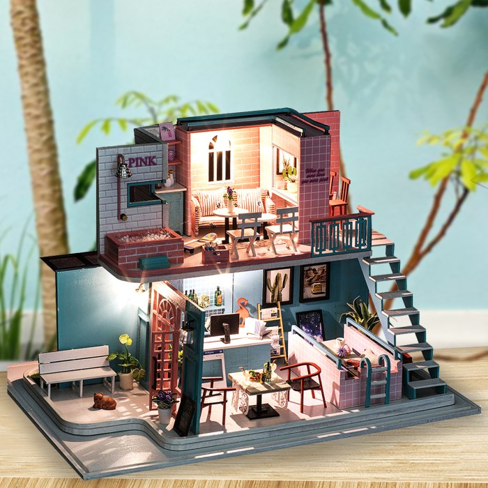 Dolls house handcrafted dominos
