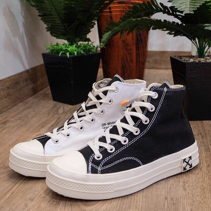 converse custom off white