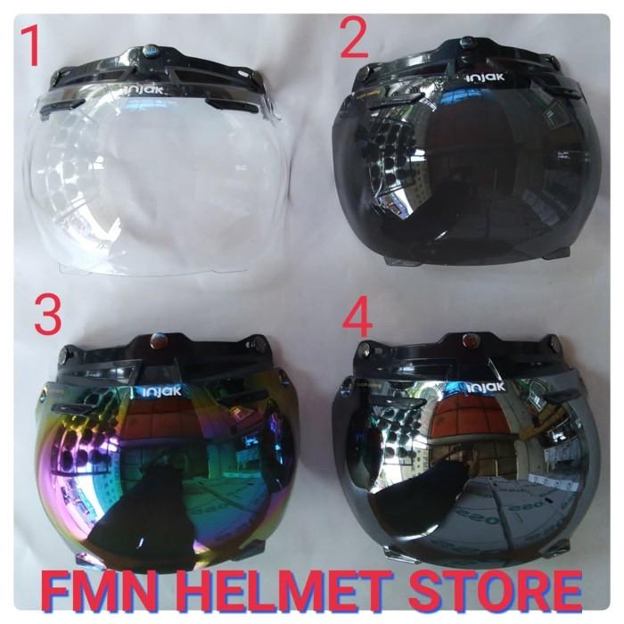harga Kaca visor injak cembung untuk helm retro bogo jpn cargloss ava Tokopedia.com
