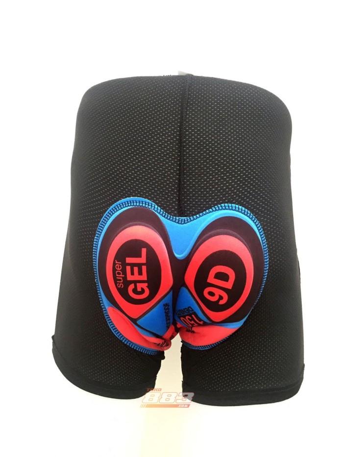 Foto Produk Celana Dalam Sepeda Pria / Men Cycling Underwear, Padding Gel Import - S, Hitam dari toko883