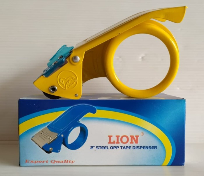 Foto Produk LION Tape Dispenser 2 Inch SDL-02 | Pemotong Lakban 2 Inch dari officemart