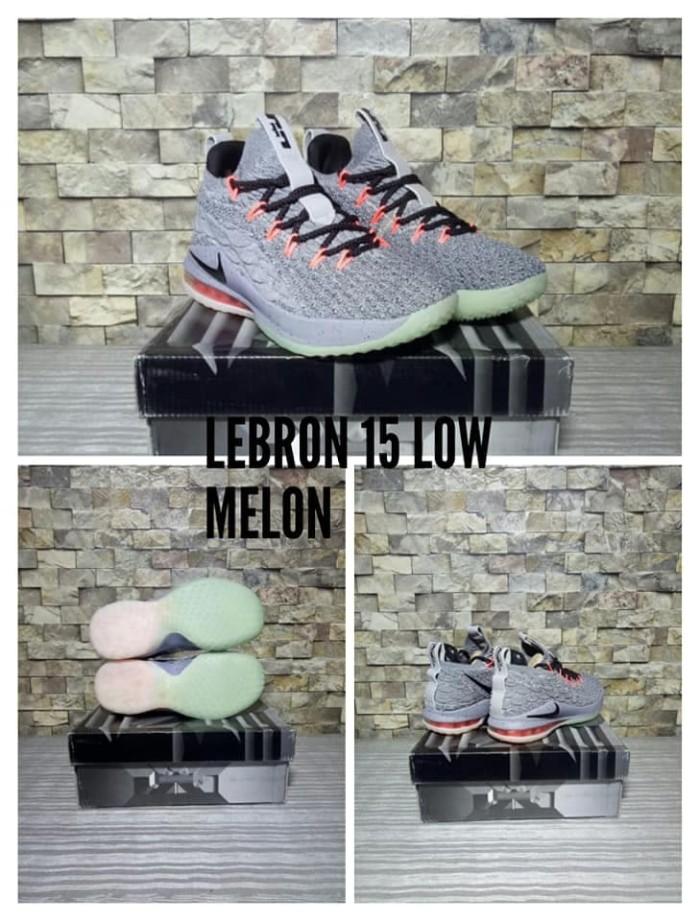 new product d373f e7490 Jual sepatu basket anak nike lebron 15 low melon kids gs grade original -  Kota Cirebon - Lapak Basket Store | Tokopedia