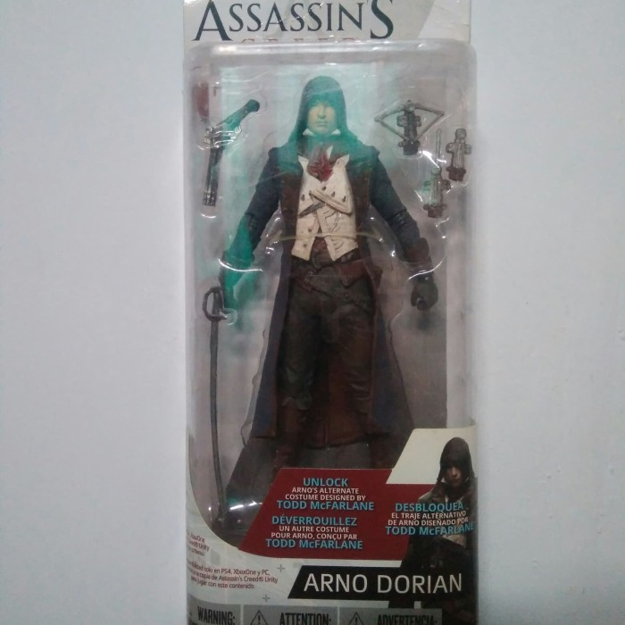 Jual Assassin S Creed Arno Dorian Mcfarlane Toys Action Figure Kab Madiun Tekno Komputer Tokopedia