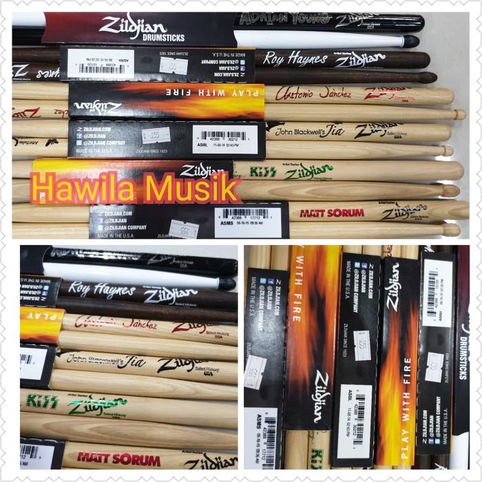 harga Stick drum drumstick zildjian artist series select hickory ori Tokopedia.com