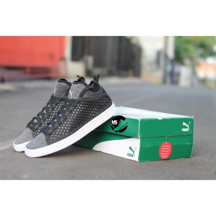 official photos c98b6 bb197 Jual PUMA BASKET CLASSIC MENS NETFIT BLACK / WHITE - Kota Tangerang - Messi  Store_ | Tokopedia