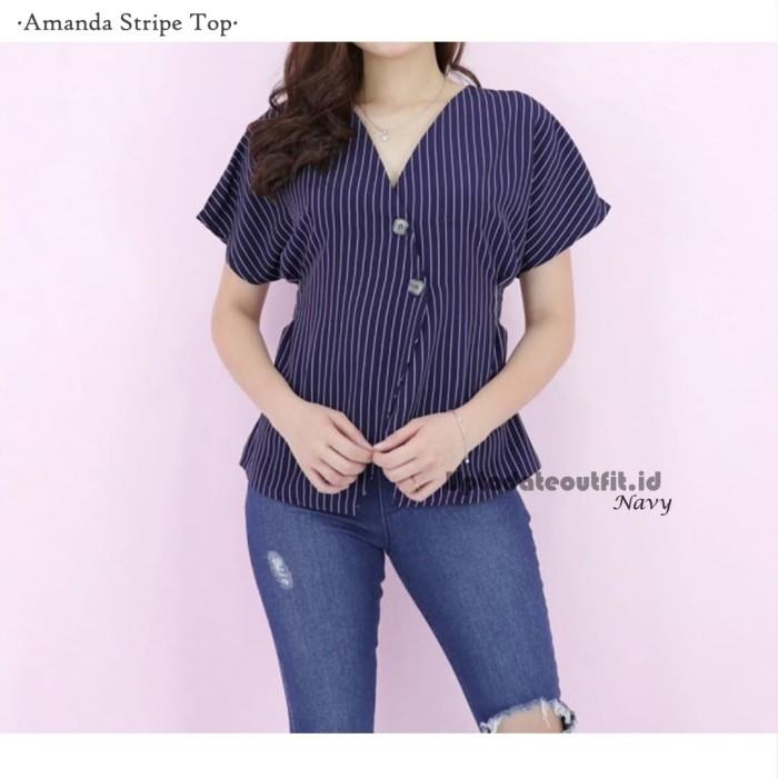 Jual Atasan Blouse Baju Wanita- Baju Korea- Baju Trendy ...