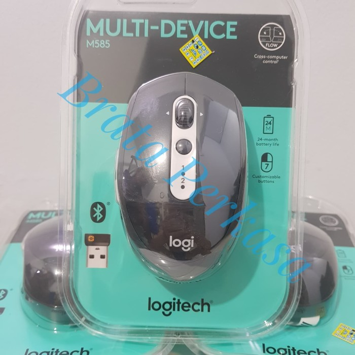 Jual Logitech M585 Multi Device Wireless Mouse - DKI Jakarta - Brata  Perkasa   Tokopedia