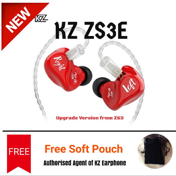 harga Kz zs3e - silver cable - zs3 upgrade iem earphone headset - silver cable Tokopedia.com