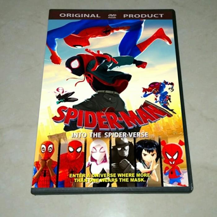Jual Dvd Spiderman Into The Spider Verse 2018 Kab Banyuwangi Play Dvd Tokopedia