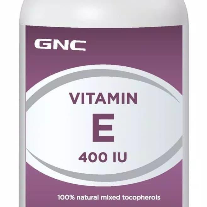 GNC- VITAMIN E 400 IU -(180 kapsul lunak)