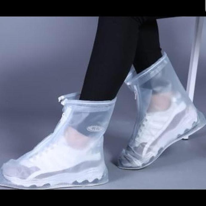 Image result for Jas hujan dan shoe cover