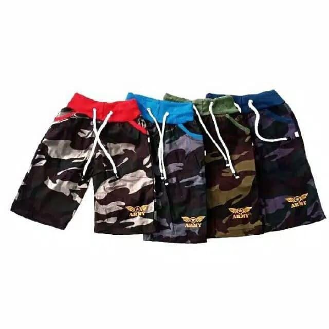 Foto Produk Celana Pendek Anak Army Terlaris Grosir Termurah - 3-4 tahun dari NAZAH KIDS ID