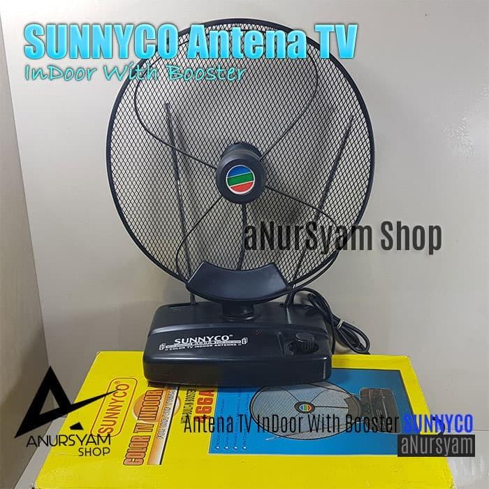 Jual Antena Tv Indoor With Booster Sunnyco 466a Sunnyco Tv Color Antenna Kota Cilegon Anursyam Tokopedia