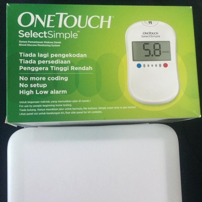 harga One touch alat ukur gula darah / blood glucose Tokopedia.com