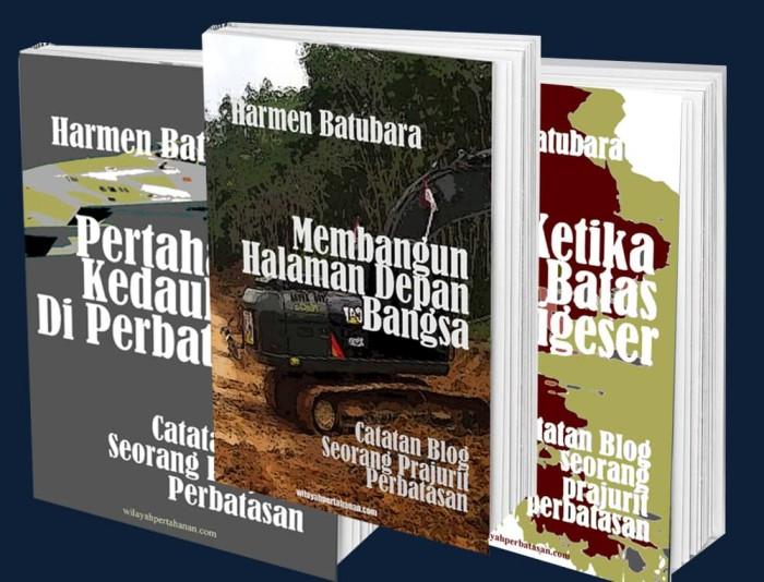 Foto Produk Paket Tiga Buku Catatan Blog Seorang Prajurit Perbatasan dari Buku Perbatasan