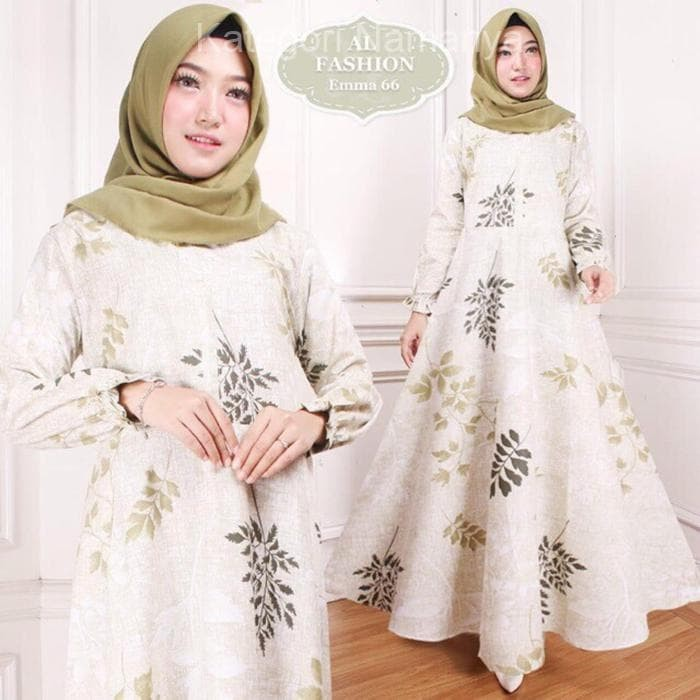 Jual Maxi Emma Gamis Syari Muslim Wanita Long Dress Ori Jumbo Jakarta Pusat Kategori Namanya Tokopedia