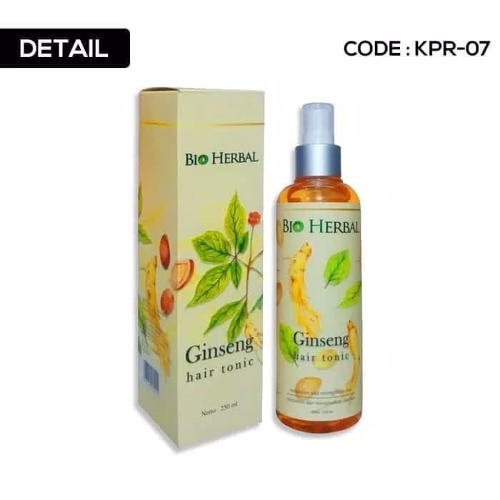 Foto Produk Bio Herbal Ginseng Hair Tonic Bpom dari grosirshop99