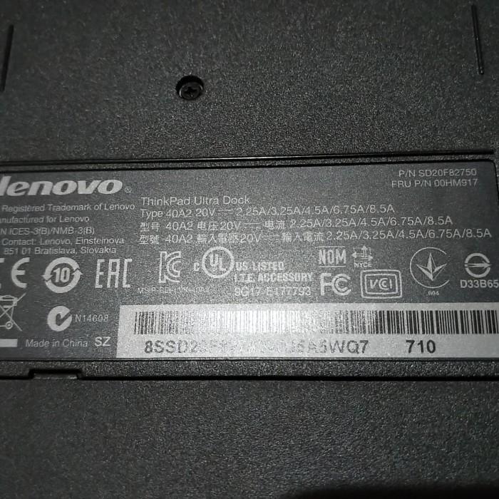 Jual docking Lenovo thinkpad T440, T440s, T440p, T540p, T450, T450s, X240,  - Jakarta Barat - Barang barang bekas | Tokopedia