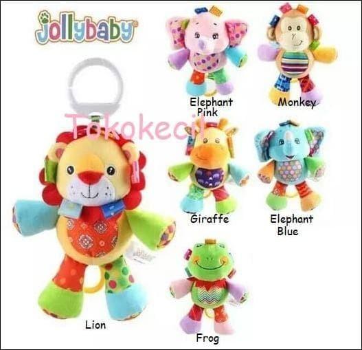New Items Jolly Baby Boneka Musik Tarik Musical Doll Mainan Bayi -