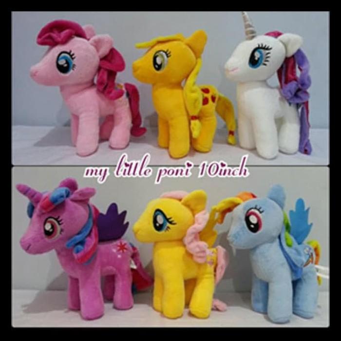 Jual Boneka Kuda Poni Lucu My Little Pony Unicorn Kuda Terbang Komplit Jakarta Barat Yetri36 Tokopedia
