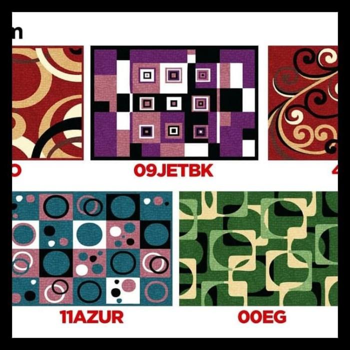 Karpet Minimalis Pp Rugs Modern 09 Ukuran 115 X 155 Cm Bermutu