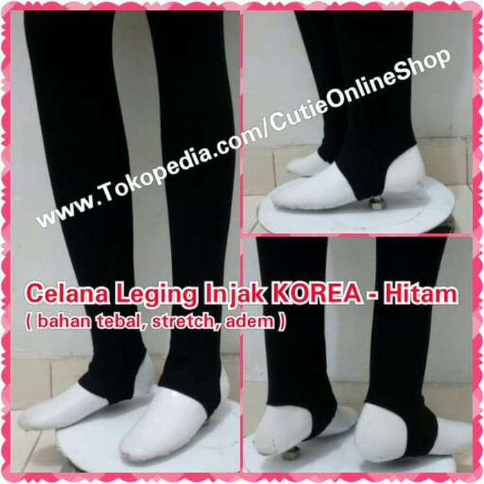 Jual Celana Murah Celana Leging Injak Korea Hitam Legging Import Hijab Jakarta Barat Open Store Shop Murah Tokopedia