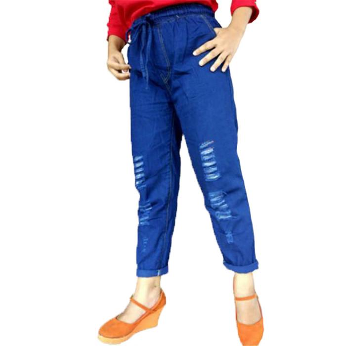 b7e2ef05d4e Jual Best Seller Celana Boyfriend Jeans Ripped / Celana Baggy Jeans ...